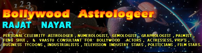 Bollywood Astrologer Rajat Nayar